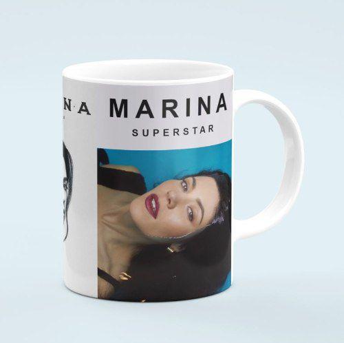 Caneca Marina  Handmade Heaven Supestar Love Fear
