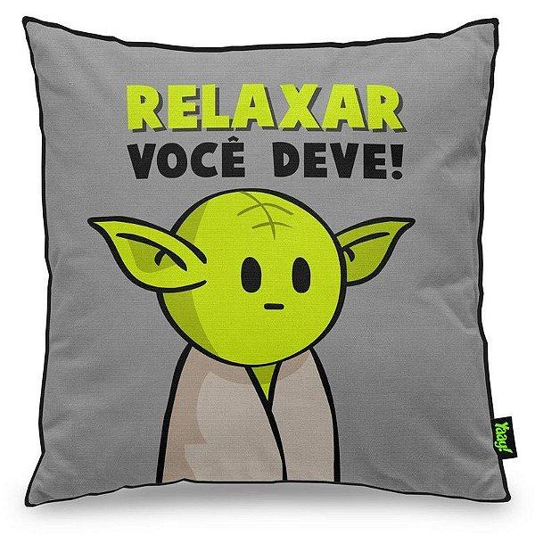 Almofada Mestre MiniOda - Relaxar você deve!