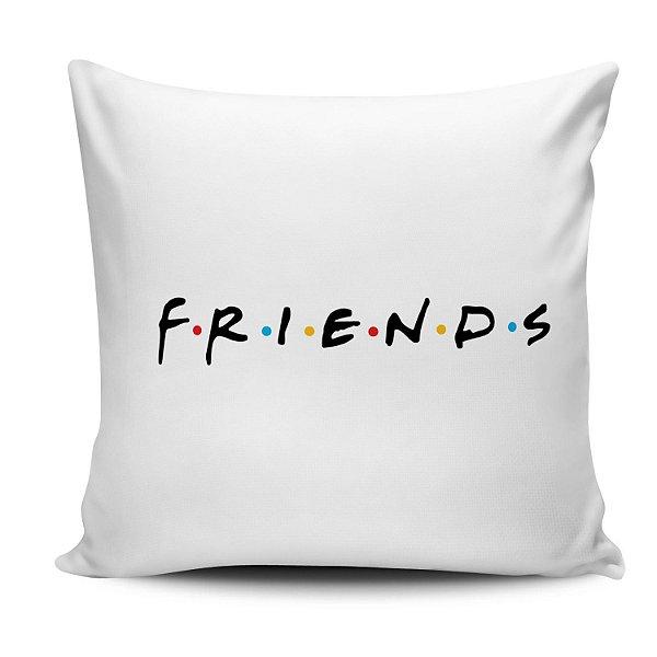 Almofada Friends logo 30x30