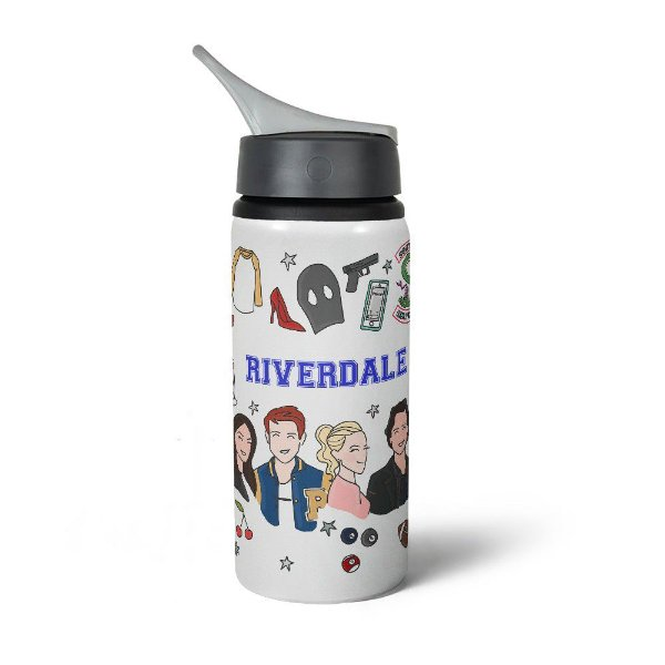Garrafa Squeeze NK Riverdale com nome personalizado