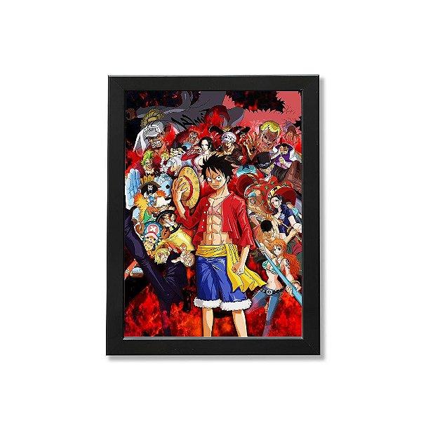 Quadro A4 - One Piece M2