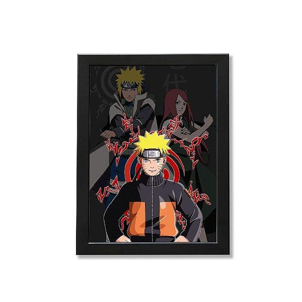 Quadro A4 - Naruto