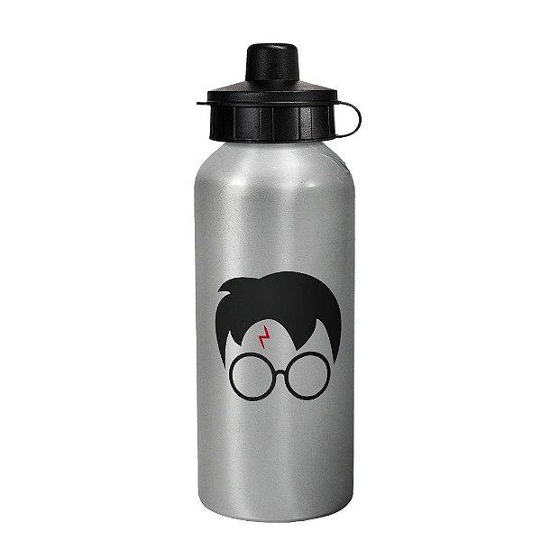 Garrafa squeeze prata - Harry Potter