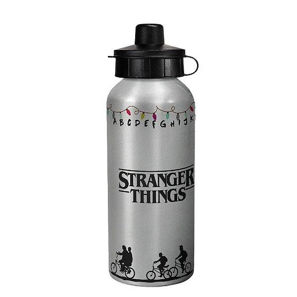 Garrafa squeeze prata - Stranger Things