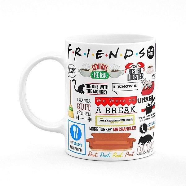 Caneca Friends i-Moments - Branca (Saldo)