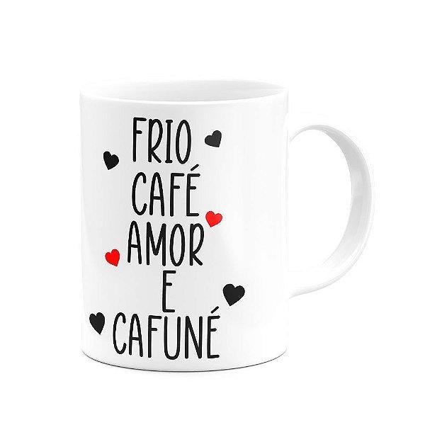 Caneca Divertida - Café e cafuné (Saldo)