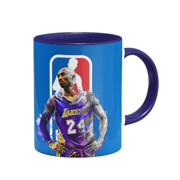 Caneca Basquete Lakers Bryant - B-blue (Saldo)