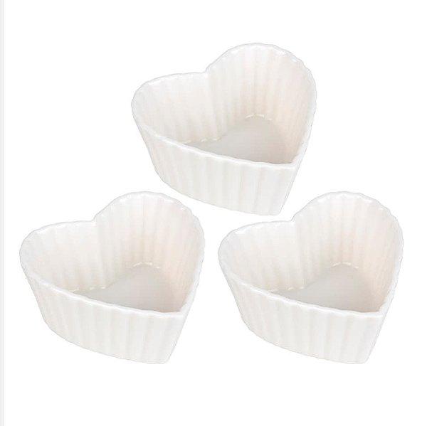 Trio de petisqueira em cerâmica