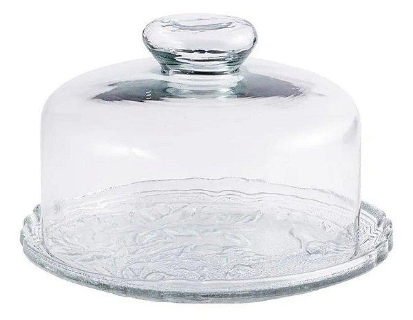 Queijeira de vidro