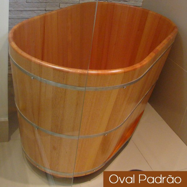Ofurô Oval Individual - 100x60cm