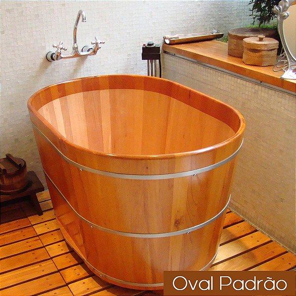 Ofurô Oval Individual - 110x70cm