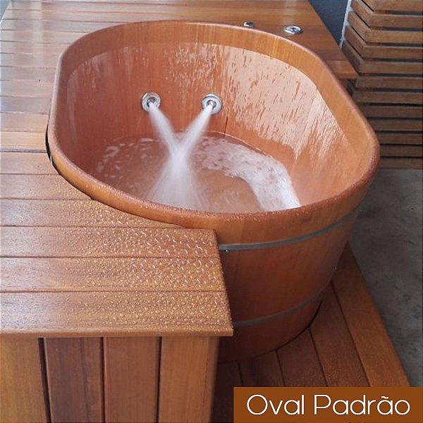 Ofurô Oval Casal - 140x100cm