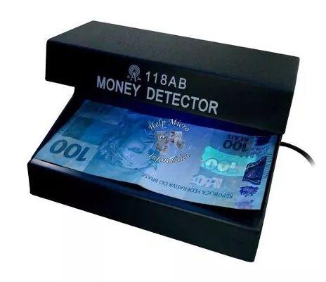 Detector de Dinheiro, Money, Nota, Cheque, Falso
