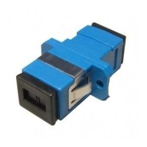 Kit 30 Peças Adaptador Óptico Simplex SM SC/Upc Azul Com Aba