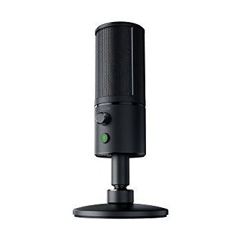 Microfone Profissional Razer Seiren X Ideal para YouTubers