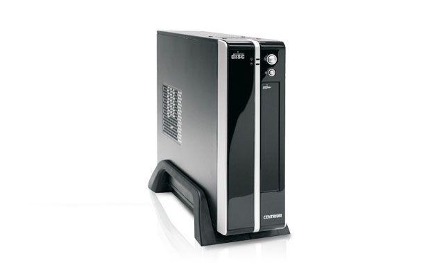 Computador slim centrium ideal para trabalho com HD 160GB + 4GB RAM