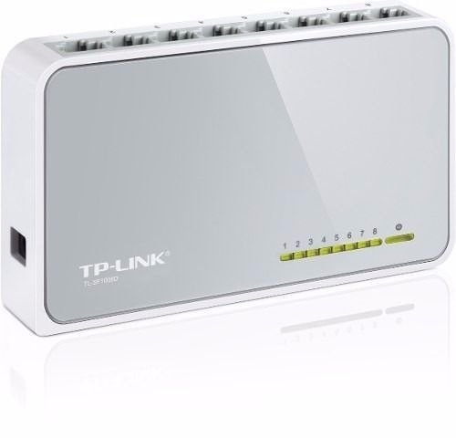 Hub Switch Tp-link Sf 1008d 8 Portas 10/100mbps Mais Rapido