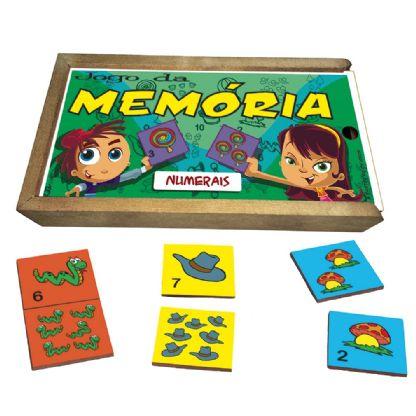 Memória Numerais   (5anos ou+)