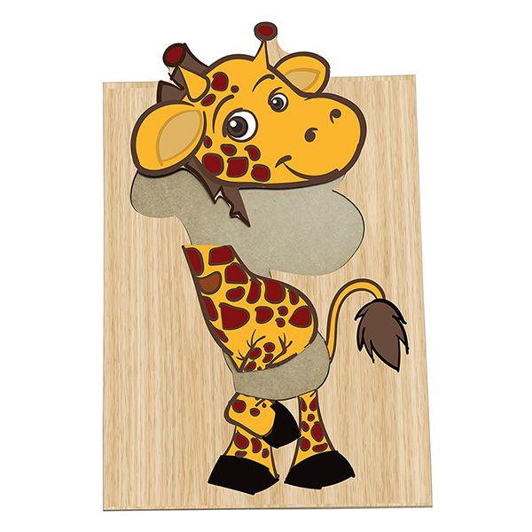 Super Quebra-Cabeça Girafinha (3anos ou+)