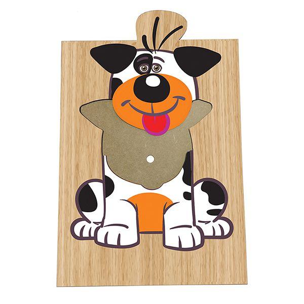 Super Quebra-Cabeça Cachorro (3anos ou+)