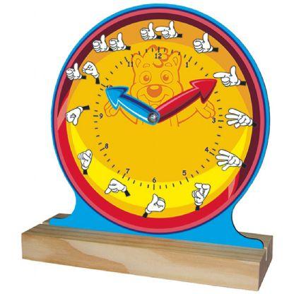 Relógio com Libras (5anos ou+)