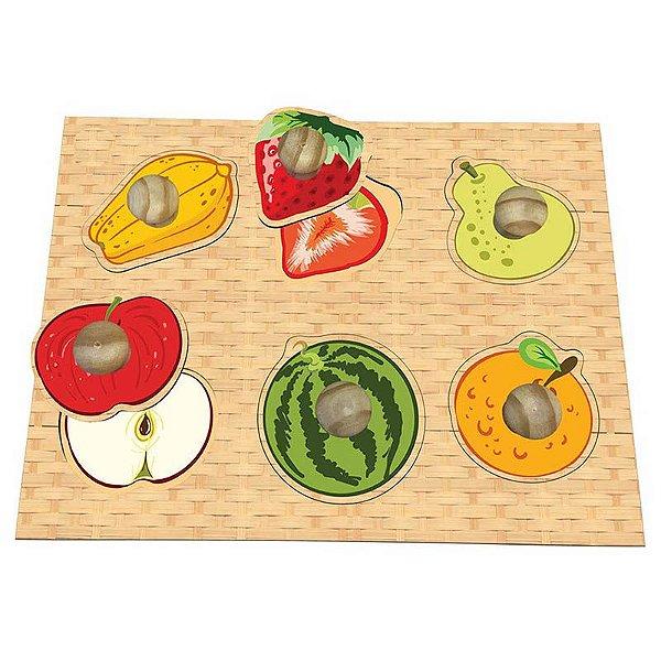 Quebra-Cabeça Pinão - Frutas (2anos ou+)