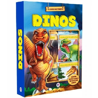 Box Cartonado - Dinos