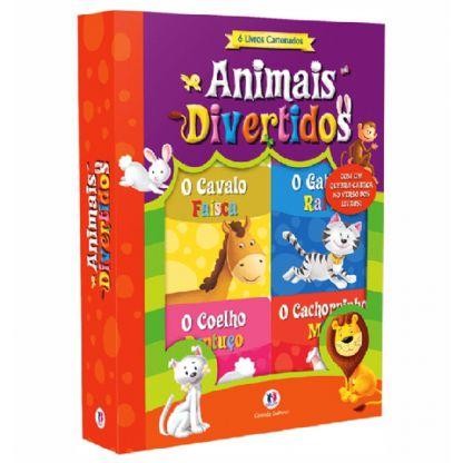 Box Cartonado - Animais Divertidos