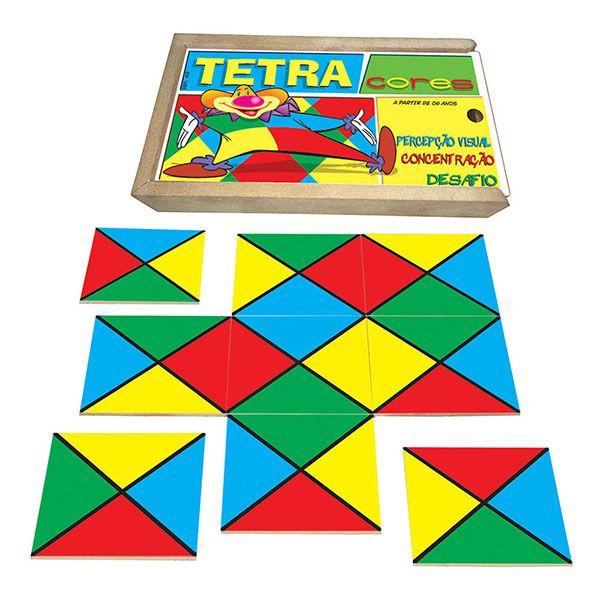 Tetra Cores  (6anos ou+)