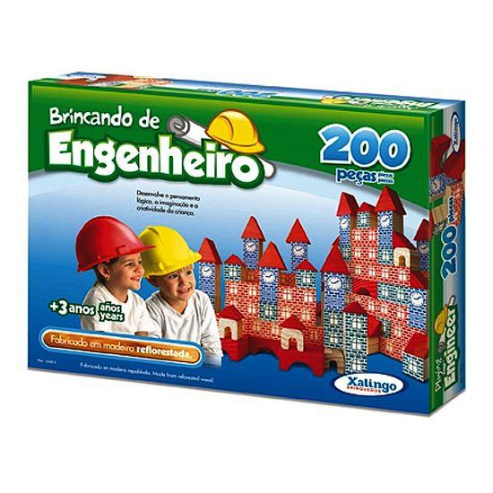 Brincando de Engenheiro (3anos ou +)