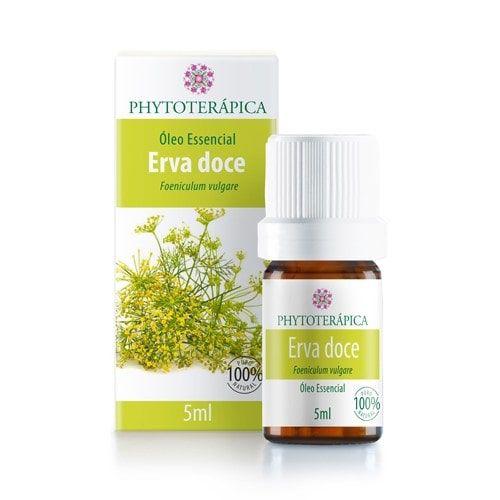 Óleo Essencial de Erva Doce 5ml - Phytoterápica