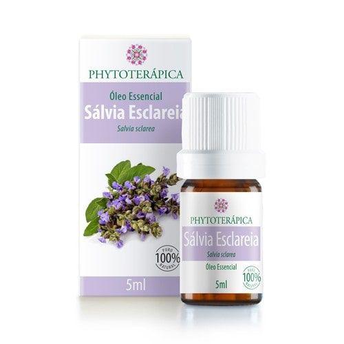 Óleo Essencial de Salvia Esclareia 5ml - Phytoterápica