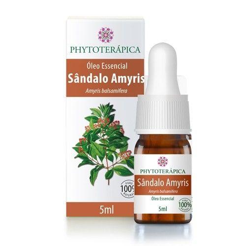 Óleo Essencial de Sandalo Amyris 5ml - Phytoterápica