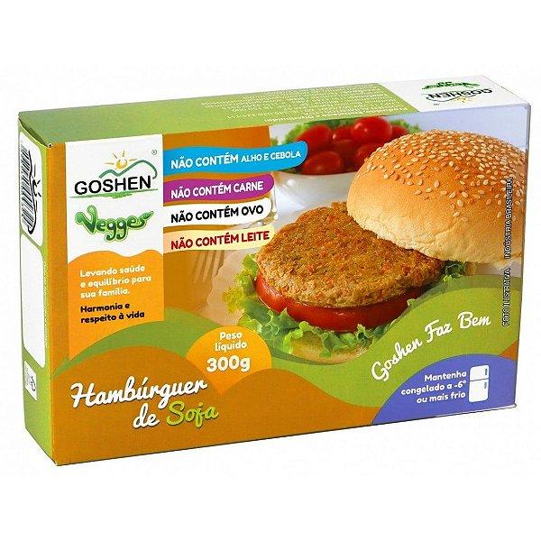 Hambúrguer de Soja Vegano 300g - Goshen