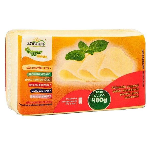 Mussarela Vegana 480g - Goshen