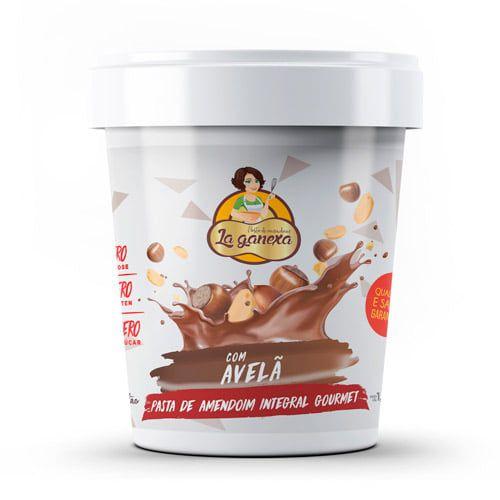 Pasta de Amendoim com Avelã 450g - La Ganexa