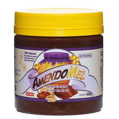 Pasta de Amendoim Amendomel Crocante com Cacau 500g - Thiani