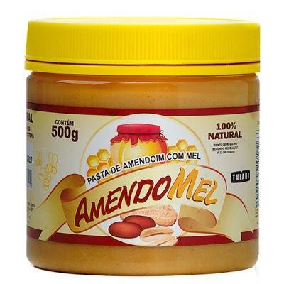 Pasta de Amendoim Amendomel Tradicional 500g - Thiani