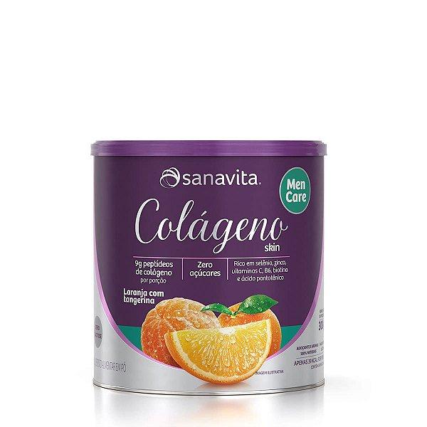 Colágeno Hidrolisado Skin Men Care 300g - Sanavita