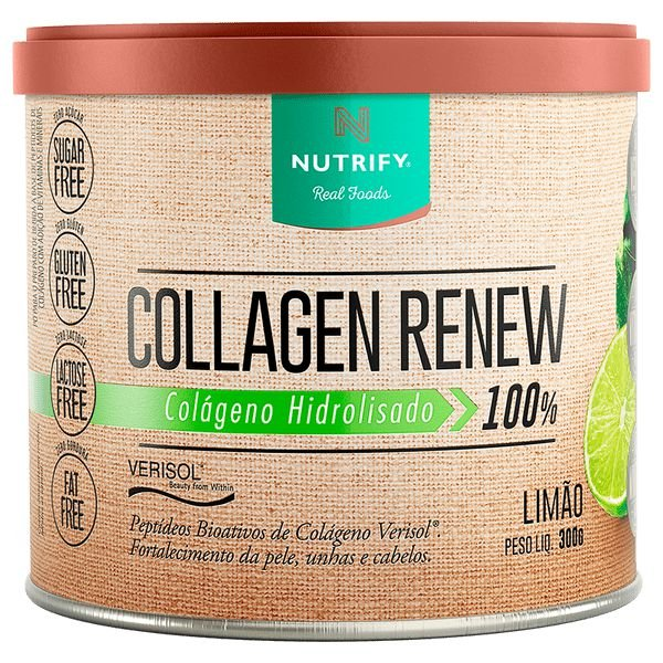 Colágeno Hidrolisado em pó Collagen Renew Verisol® 300g - Nutrify