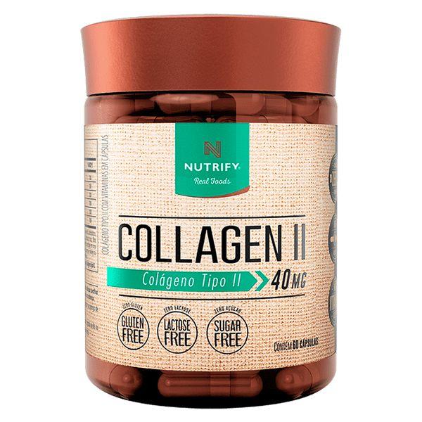 Collagen II Colágeno Tipo II 40mg 60 cápsulas - Nutrify