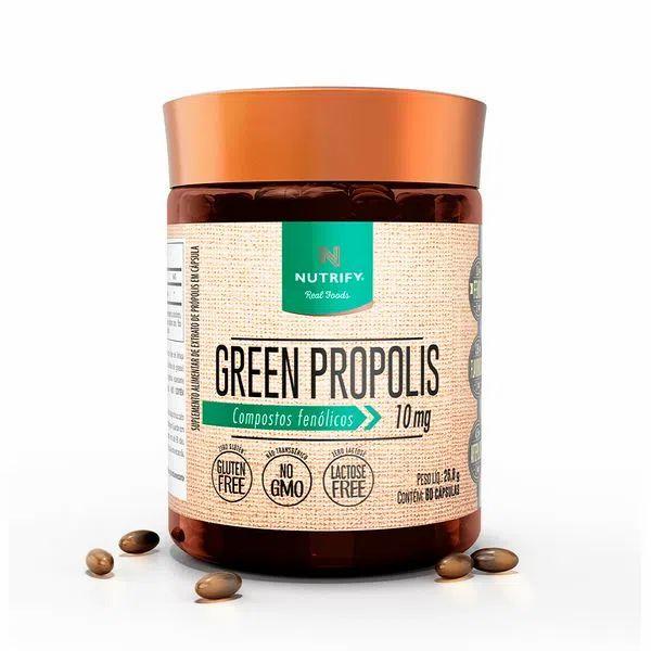Green Propolis 60 cápsulas - Nutrify
