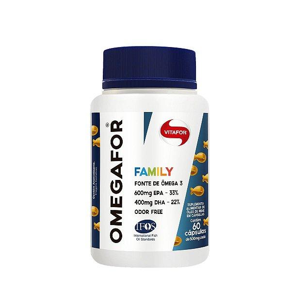 Ômega 3 Omegafor Family 60 cápsulas - Vitafor