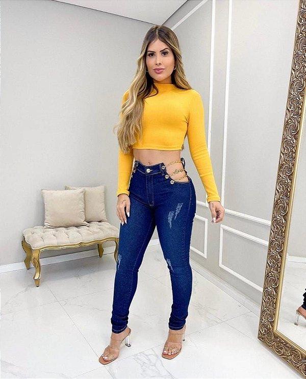 Calça Jeans Corrente Ana Clara