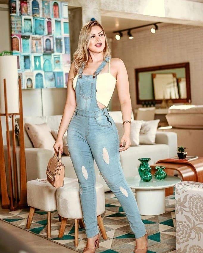 Macacão Jeans Sofhie