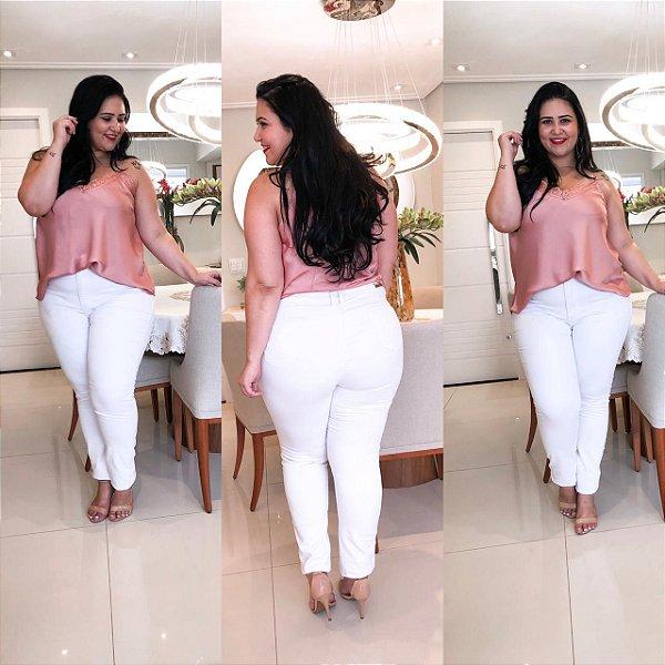 Calça Branca Plus