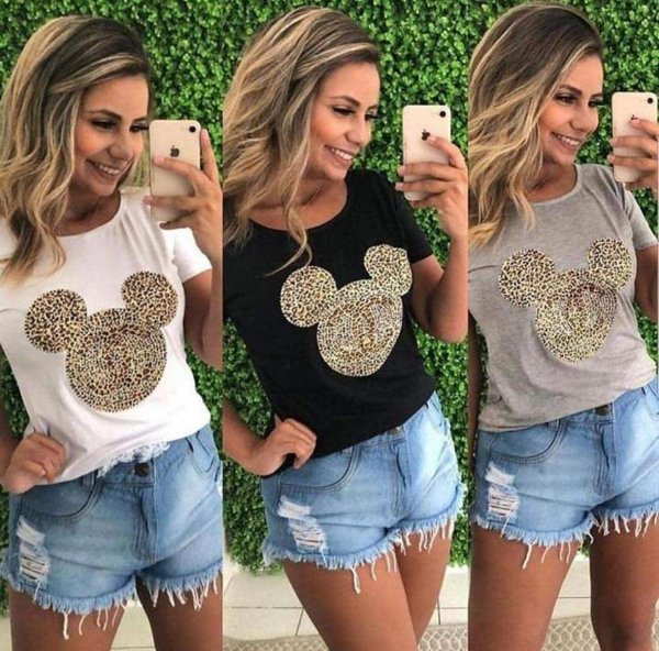 T-Shirt Mini Animal Print