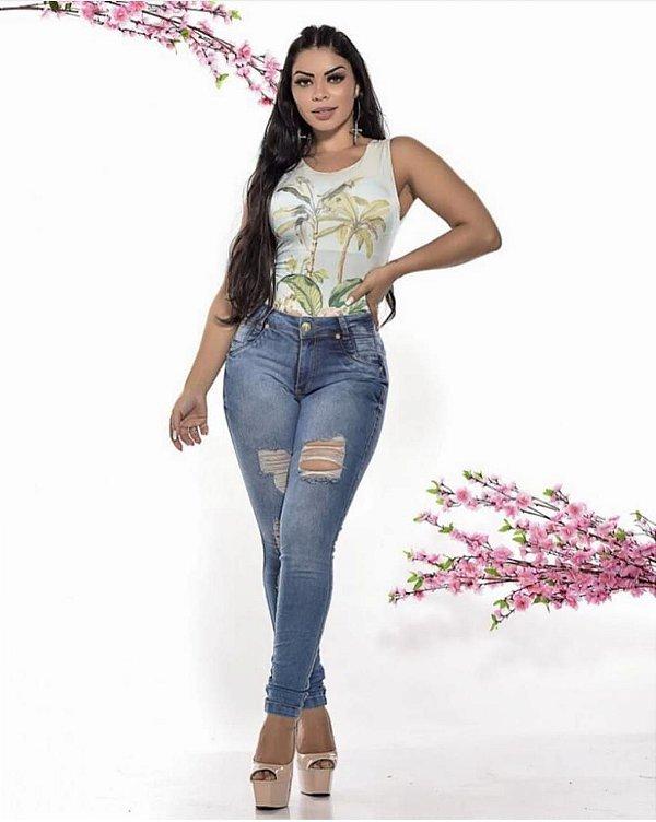 Calça Jeans Destroyed Allana