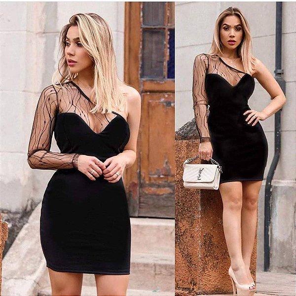Vestido Glamour Black