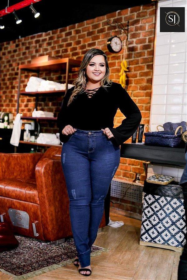 Calça Jeans Plus Size Daniela